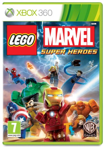 Lego: Marvel Super Heroes - Xbox 360 (Superhero Games For Xbox 360)