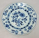 Meissen Carl Teichert Blue Onion Bread/Dessert Plate, 6.75 Inch Diameter