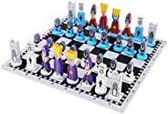 Gulakey Travel Chess Set with Chess Board Educational Toys for Kids and Adults