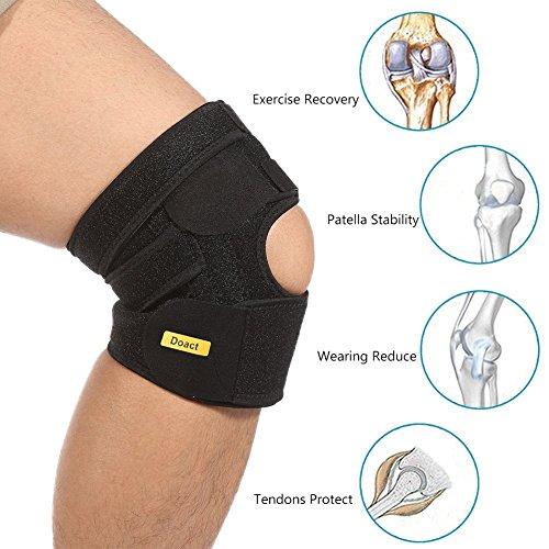 DOACT Knee Brace Patella Stabilizer for Women a...