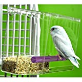 TWEEKY CLEAN tidy Bird Feeder parrot toy toys...