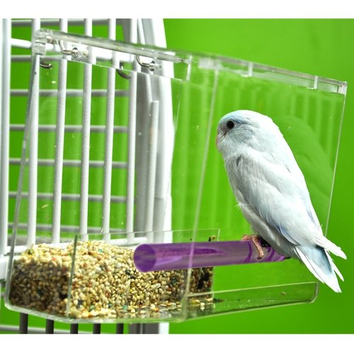 TWEEKY CLEAN tidy Bird Feeder parrot toy toys canary cockatiel finch seed by Unknown