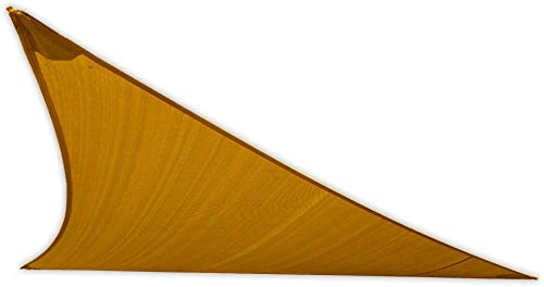 US Shade Sail 15 Right Triangle Shade Sail Sandy Beach
