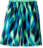 Nike Boy's Beam 9'' Swim Trunks M Electro Green