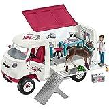 Schleich - 42370 - Kit - Vétérinaire Mobile avec Poulain Hanovrien