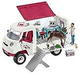 Vétérinaire mobile Schleich Horse Club avec poulain hanovrien