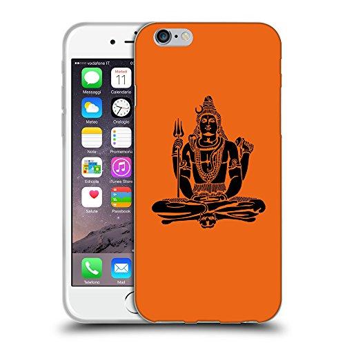 GoGoMobile Coque de Protection TPU Silicone Case pour // Q08100632 Hindou 1 sécurité Orange // Apple iPhone 7