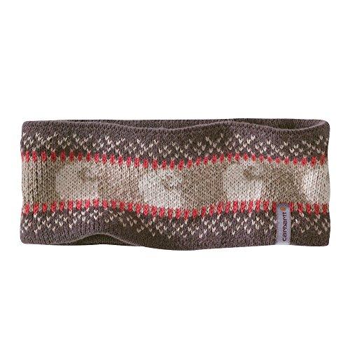 Carhartt Women's Springvale Knit Logo Headband, Smokey Taupe, One Size -