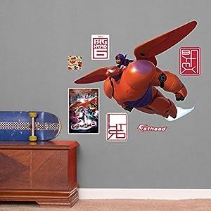Fathead Baymax And Hiro Disney Big Hero 6