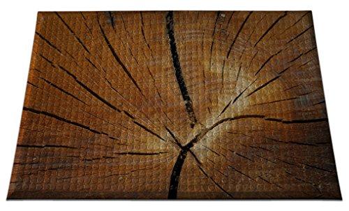 Ergomat IND-0203-07 Home Edition Anti-Fatigue Graphic Floor Mats, Tree Stump Deluxe, 2' x 3'