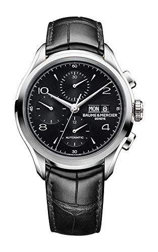 ca9532be4d6a Baume   Mercier – para hombre cronógrafo esfera negra reloj para hombre  10211