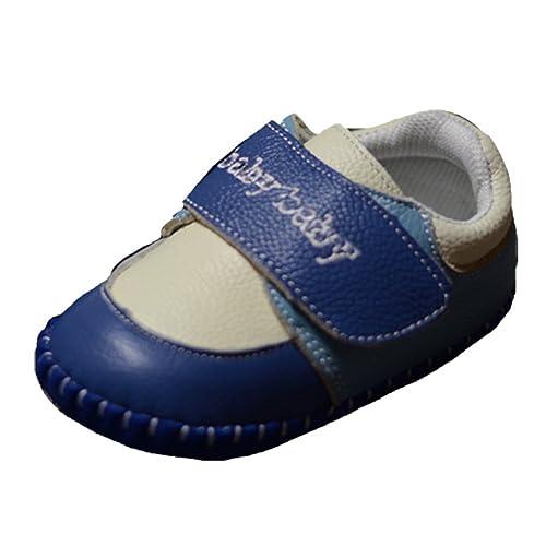 ede36feae81f6 Ohmais Enfants Chaussure bebe garcon bebe fille premier pas Chaussure  premier pas bébé sandale en cuir