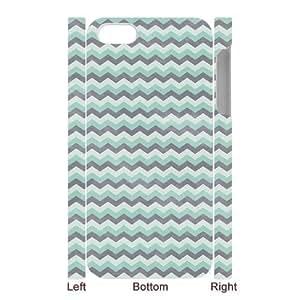 XiFu*MeiGodstore Custom New Style Colorful Chevron Pattern Cover Hard Plastic iPhone 5 CaseXiFu*Mei