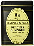 Harney & Sons Loose Leaf Black Tea, Peaches & Ginger, 8 Ounce