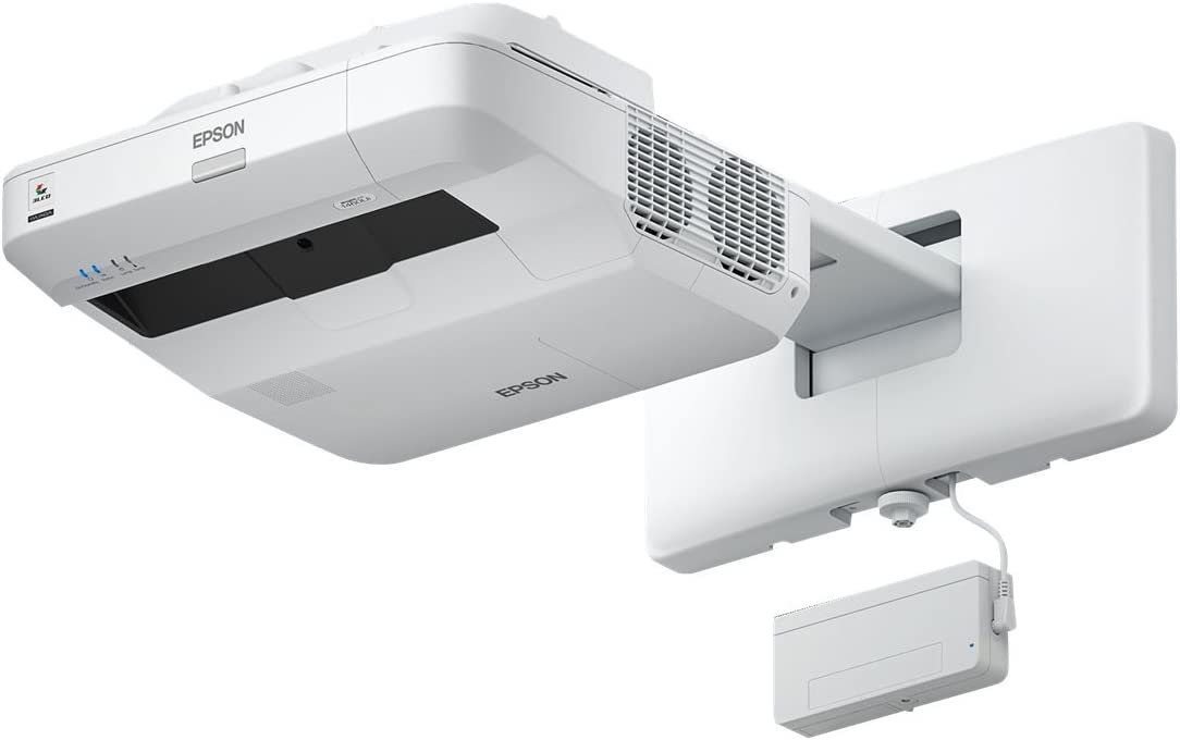 Epson 8M4691 BrightLink Pro 1450Ui LCD Projector - High Definition 1080P - White