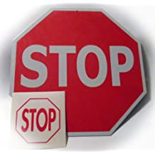 New Stop Sign Tin Traffic Metal Street Road Highway Sign