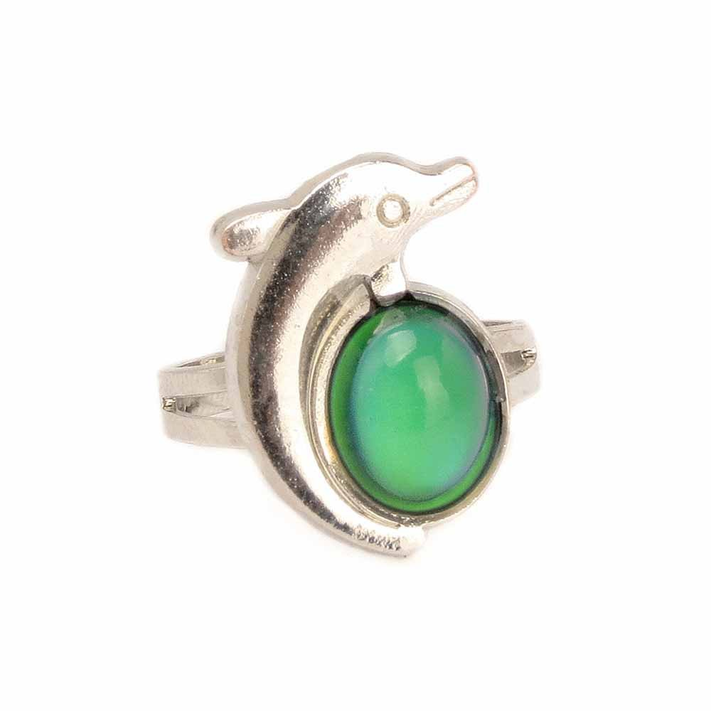 10pcs//12pcs//30pcs Mixed Mood Rings Classic Temperature Change Color Mood Ring Lovers Adjustable Size