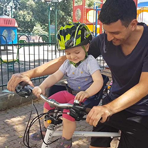 Bellelli Pulcino Bicycle Child Seat Child Carrier For Bikes Mount On Front Fork Made In Italy Super And Super Safe For Your Child