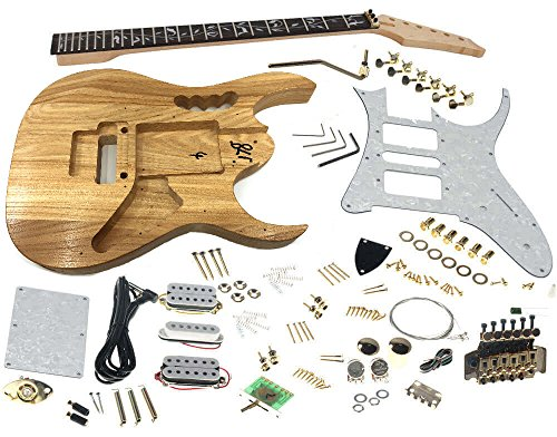 Solo Jem Style DIY Guitar Kit, Basswood Body, Hard for sale  Delivered anywhere in USA
