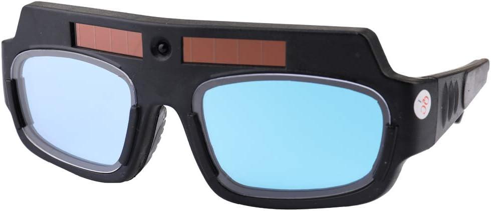 Gafas Protectoras,Gafas de Seguridad Laboral Soldar con Atenuación Automática Solar Protección UV - Gafas De Soldadura Para Profesionales