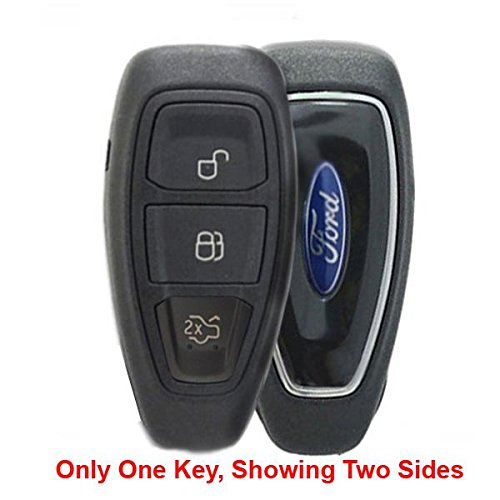 OEM Ford 3-Button Smart Key Fob Remote with Trunk Release (FCC ID: KR55WK48801, P/N: 164-R8048) by Ford