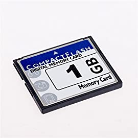FengShengDa 1GB Compact Flash Memory Card Speed Up To 50MB/s, Frustration-Free Packaging- SDCFHS-1G-AFFP (1G) 8 Speeds up to 50MB/s for ultra performance Ideal combination of reliability, value, and ultra performance Great for entry to mid range DSLRs