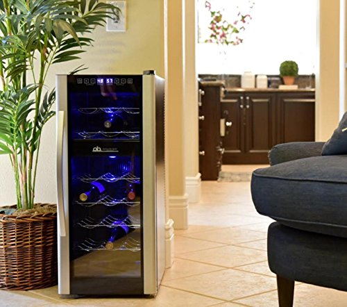 Avalon Bay AB-WINE21DS 21 Bottle Dual Zone Wine Cooler by Avalon Bay (Image #1)