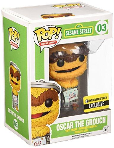 Figura Pop Barrio Sesamo Oscar Naranja