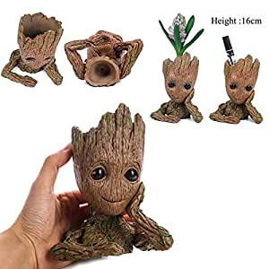 Guardians of The Galaxy Vol. 2 Baby Groot Figure Flowerpot Style Toy Gift 16cm