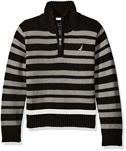 Nautica Boys Clean Striped Sweater