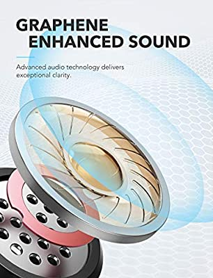 True Wireless Earbuds, Soundcore Liberty Neo by Anker, Bluetooth Headphones with Graphene-Enhanced Drivers, 12-Hour Playtime, IPX5 Water-Resistant, Stereo Calls, AAC, Microphone, and Bluetooth 5.0