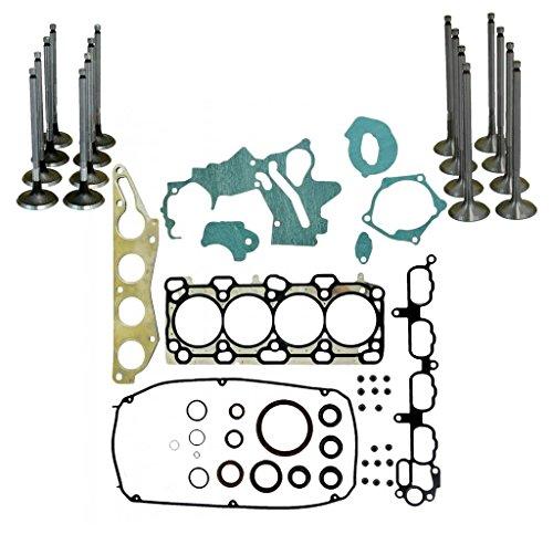 Set Performance Gasket Full - Diamond Power Full Gasket set Intake & Exhaust valves works with Mitsubishi 2.4L