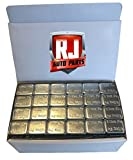 2 Boxes Wheel Weights, Zinc Plated 1/2 oz. Stick-on Adhesive Tape (18.00 lbs) 576 Pieces, Lead Free