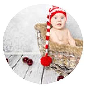 alfombrilla de ratón Merry Christmas Baby - ronda - 20cm