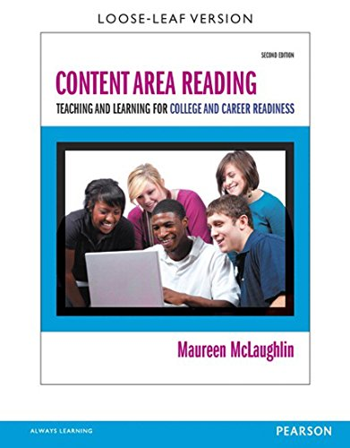 Download Content Area Reading: Teaching and Learning for College and Career Readiness (2nd Edition) Pdf