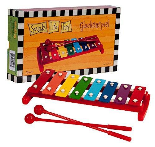 Sounds Like Fun 8-Note Glockenspiel with Mallets (Age 3+) by Sounds Like Fun