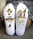 I'm 21 Socks Happy Birthday Party Funny Gifts Drink Champagne