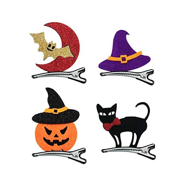 Halloween Party Props Decor Headband Orange Cloth Pumpkin Witch Bat Witch Hat