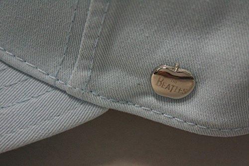 The Beatles Classic Adjustable Baseball Cap Drop T Logo Sgt Pepper Drum Abbey Road (Drop T Light Blue)