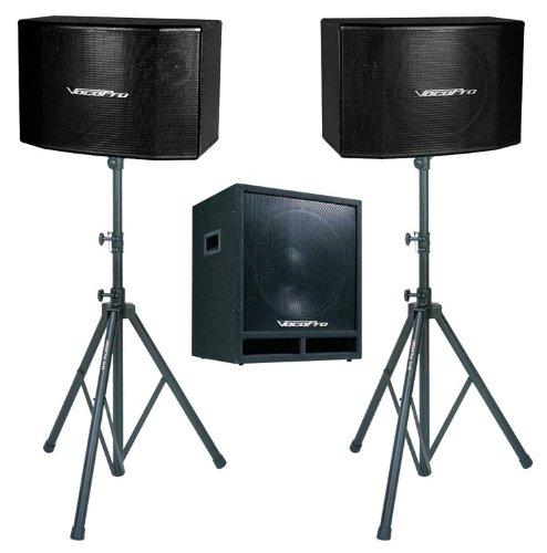 VocoPro 600W Vocal Speaker w/ 15 Sub Woofer & (Vocopro Sub)