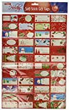 Arts & Crafts : Christmas Gift Tag Stickers