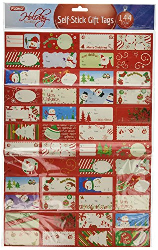 Christmas Sticker Gift Tags - Christmas Gift Tag Stickers