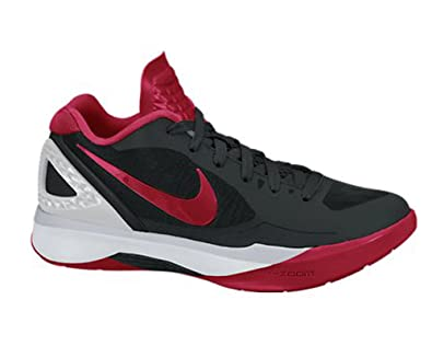 best cheap 191b3 0c0e7 Nike Volley Zoom Hyperspike Women s Volleyball Shoes Black Red Metallic  Silver White 9.5 B(M) US  Amazon.in  Shoes   Handbags