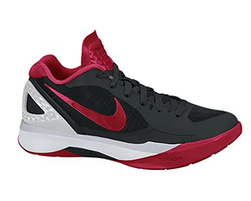 buy popular e859b 5f4cc Nike Women s Volley Zoom Hyperspike Black Red Metallic Silver White  Volleyball Shoes - 7. 5 B(M) US  Amazon.in  Shoes   Handbags