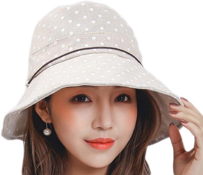 Gorros Sombrero De Verano para Mujer Puntos para El Aire Basic ...