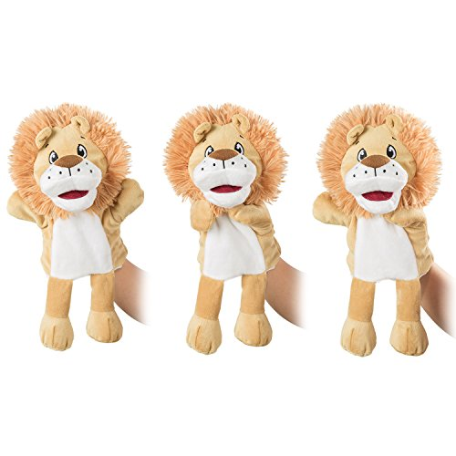 Hot Sale 2017 Hollyhome Hand Puppets Lion Plush Animal Zoo Animal