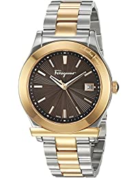 Women's '1898' Swiss Quartz Stainless Steel Casual Watch, Color:Two Tone (Model: FF3290016)