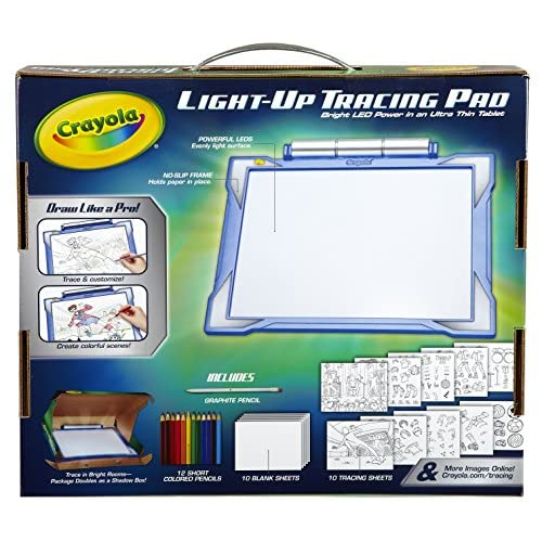 new Crayola Light-up Tracing Pad, Coloring Board for Kids, Easy ...