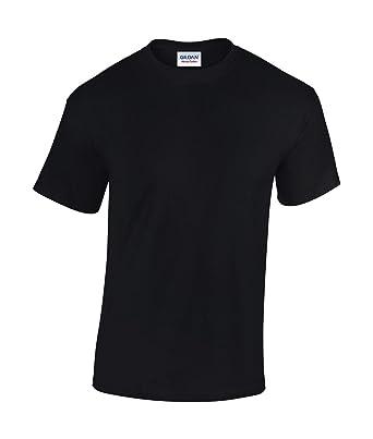 the latest ae72c 0842e Gildan 5 Stück Heavy Cotton T-Shirt Herren Shirt S - 3XL Schwarz Weiß