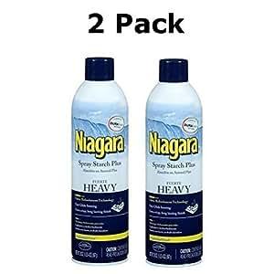 Niagara Heavy Spray Starch Plus Durafresh, Professional Finish, 20 Oz (2 Pack)